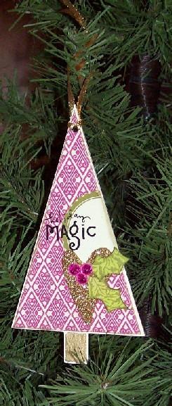 Holiday Magic Ornament