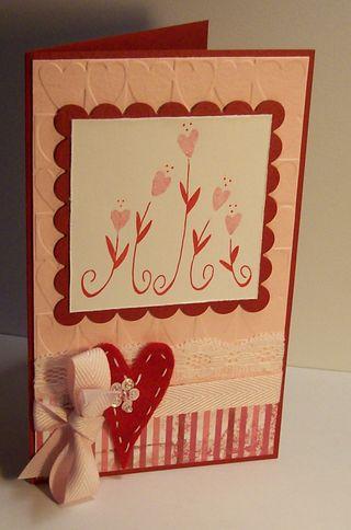 Felt Heart Valentine