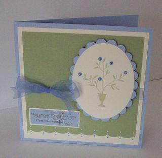 Sympathy Card - Evan's Family