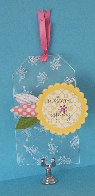 Transparency Project 1 - Spring Tag