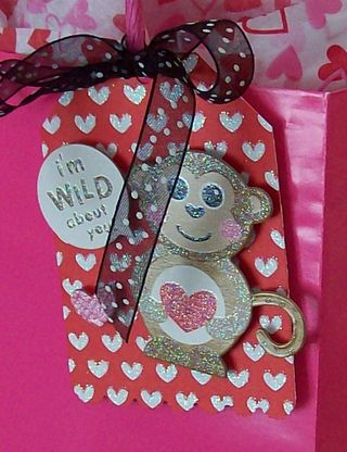 Valentine Gift Bag Tag 1
