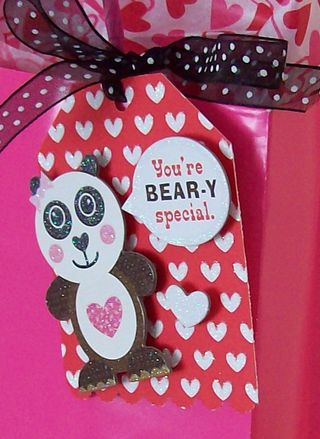 Valentine Gift Bag Tag 2