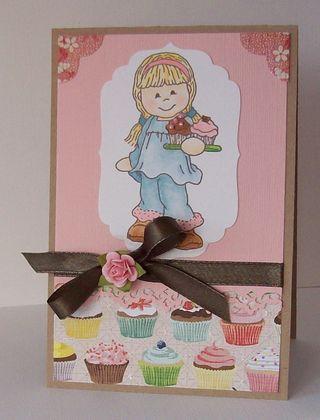 Bildy Cupcake Card