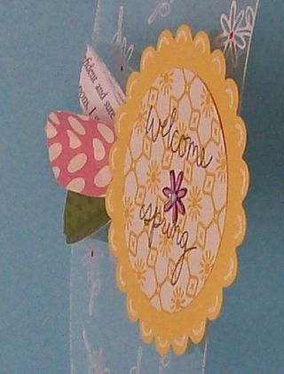 Transparency Project 1 - Spring Tag Detail